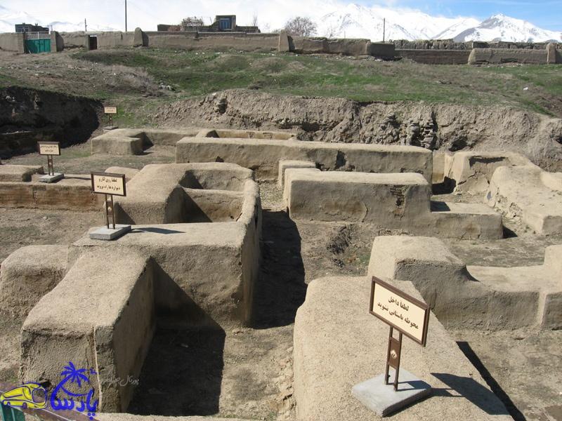 تپه هَگْمَتانه (آیباتان) تپهای باستانی با پیشینهای پیوسته به دوران مادها