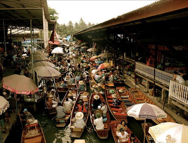 کانال های بانکوک