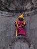 بروکسل - مجسمه مرد کوچک (Manneken pis)