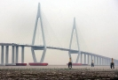 چین - پل هانگ ژو(Hangzhou Bay Bridge)