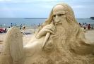 اوریسا - Sand sculpture