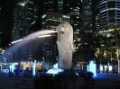 سنگاپور - پارک و مجسمه مرلاین(merlion)