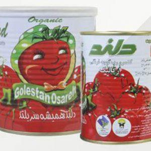 رب گوجه فرنگی ارگانیک دلند