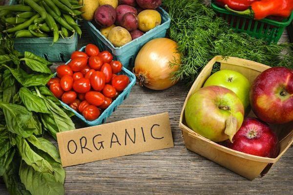 محصول ارگانیک ، سالم و طبیعی